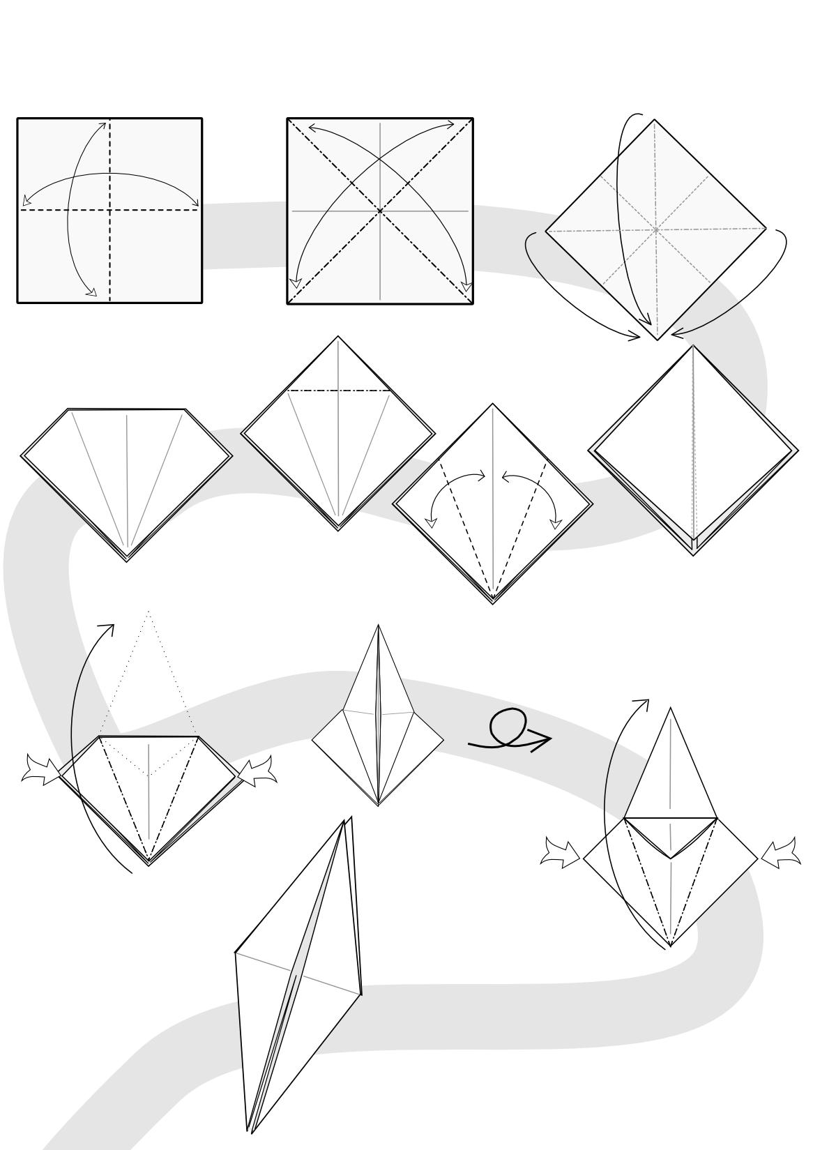 Origami Werewolf Diagram - photo#45